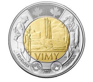 2017 $2 Special Wrap Roll: The Battle of Vimy Ridge