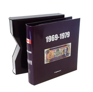 Numi Album For Canadian Banknote 1969-1979