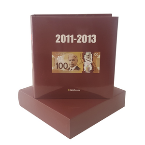 Numi Album For Canadian Banknote 2011-2013