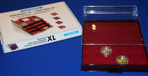 COIN BOXES FOR VENETIAN GLASS MINT COINS