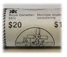 1984 Canada Jacques Cartier $1 dollar coin in Original Roll mint Roll
