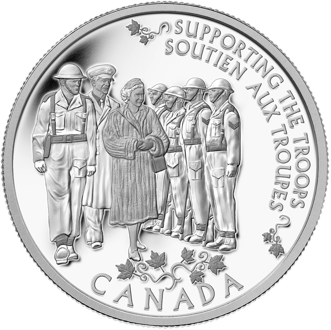 2014 Canada Fine Silver $5 Five Dollars-Princess to Monarch