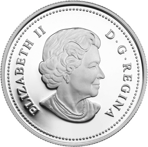 2015 Canada Fine Silver $5 Five Dollars-Year of the Sheep