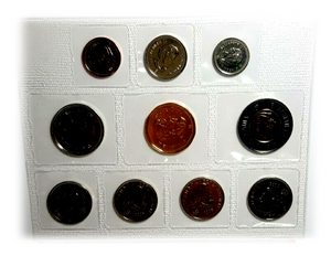 2008 Canada Nickel Prooflike Uncirculated Coin Set