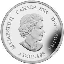 2014 Canada 3$ Fine Silver Coin - Jewel of Life