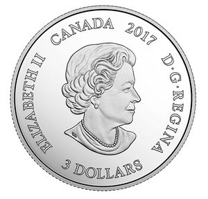 2017 Canada 3$ Three Dollars - Zodiac Series-Capricorn