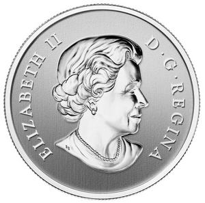 2013 Canada Fine Silver $10 Ten Dollars-Year of the Snake