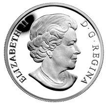 2013 Canada Fine Silver $10 Ten Dollars-The Inukshuk