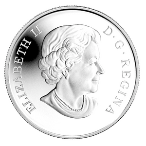 2014 Canada Fine Silver $10 Ten Dollars-Wait for Me Daddy