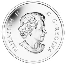 2015 Canada Fine Silver $10 Ten Dollars-NHL-Vancouver Canucks