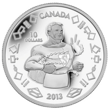 2013 Canada Fine Silver $10 Ten Dollars-75th Anniversary of Superman Vintage