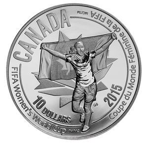 2015 $10 Fifa Women's World Cup - Celebration
