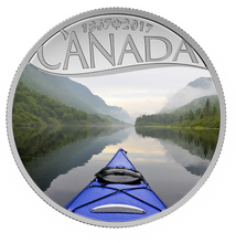 2017 $10 Celebrating Canada's 150th Coin Series: Kayaking on the River