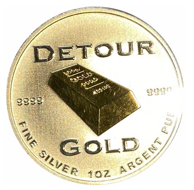 2013 Pure Silver Detour Gold Corporation First pour 18 February