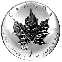 2000 Silver maple Leaf with Privy Marks-Dragon