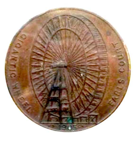 Earls Court Gigantic Ferris Wheel  Medal/ Token