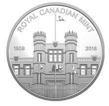 2018 RCM Medaillon from Proof Set pur silver