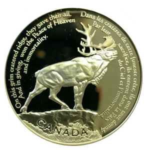 2006 Thirty Dollars, Beaumont-Hamel Newfoundland Memorial