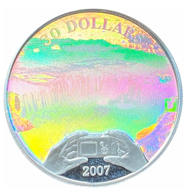 2007 Thirty Dollars, Panoramic Photography in Canada, Niagara Falls