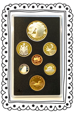 1996 Proof Set-200th Anniv. John McIntosh