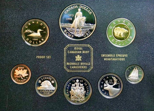 1998 Proof Set-125th Anniversary R.C.M.P.