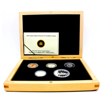 2010 Limited Edition Proof Set-75th Anniversary of the First Canadian Silver Dollar