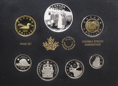 2014 Proof Set-100th Anniversary of the Declaration of the First World War
