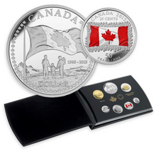 2015 Proof Set-50th Anniversary of the Canadian Flag