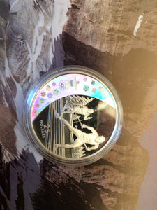 2010 Twenty Five Dollars, Vancouver Olympic Winter Games, set of 15 Sterling Proof coins, 2007-2009