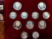 1980 Solid 28 Silver Proof Olympic Coin Collection