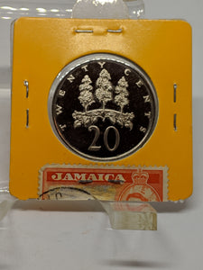 1976 Jamaica 20 Cents Proof Coin Lot:287-A