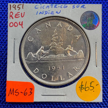 1951 Canada Silver One Dollar REV-004 MS-63 (21)