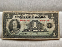 1935 Banque of Canada One Dollar Osborne Towers B 0145213 - Trade your coins