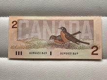 1986 Bank of canada 2 Dollars Thiessen-Crow AUM 4451869