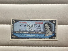 1954 Bank of canada 5 Dollars Beattie-Coyne I/C 9803935