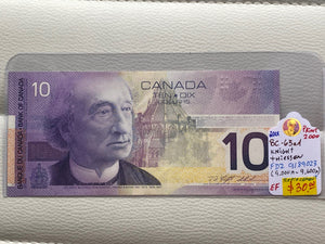 1971 Bank of canada 10 dollars Knight Thiessen FDZ 9189023