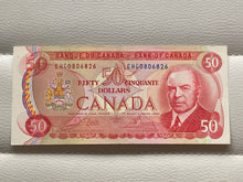1975 Bank of canada 50 Dollars Crow-Bouey EHG 0806826