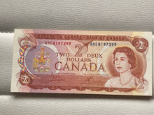 1974 Bank of canada 2 Dollars Crow-Bouey ARE 8197299
