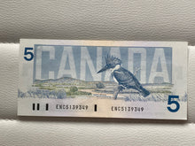 1986 Bank of canada 5 Dollars Crow-Bouey ENC 5139349