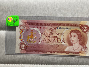 1974 Bank of canada 2 Dollars Lawson-Bouey AGE 8487013