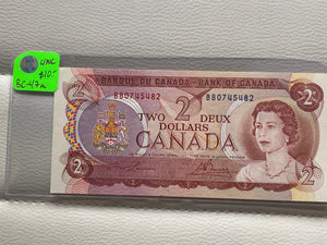 1974 Bank of canada 2 Dollars Lawson-Bouey BB 0745482