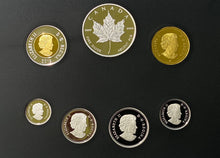 2019 Pure Silver Coloured 6-Coin Set with Medallion - Canadian Circulation Collection