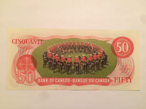 1975 Bank of canada 50 Dollars Crow-Bouey EHH 4595927