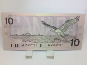 1989 Bank of Canada 10 Dollars Macdonald Banknote AEY 5150722