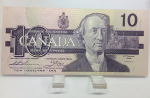 1989 Bank of Canada 10 Dollars MacDonald Banknote ADP 5878192