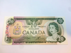 1979 Canada Banknote Crow-Bouey BC-54b-i Serial: 50808702110