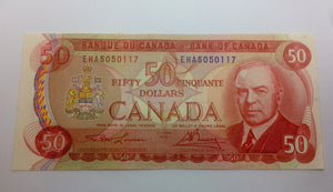 1975 Bank of canada 50 Dollars Lawson-Bouey EHA 5050117