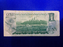 1973 Bank of Canada 1 Dollar Replacement Note Serial: *IA2386290