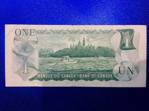 1973 Bank of Canada 1 Dollar Replacement Note Serial: *MC6415003