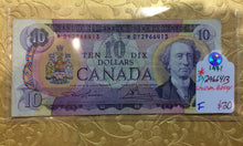 1971 Bank of canada 10 Dollars Lawson-Bouey Replacement Note Serial: *DY2966413